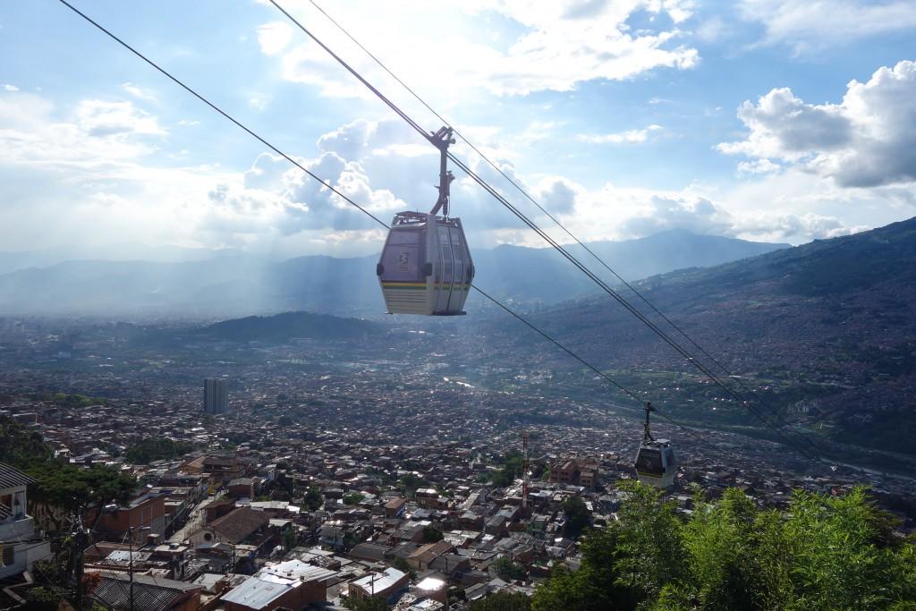 Prendre de la hauteur à Medellin
