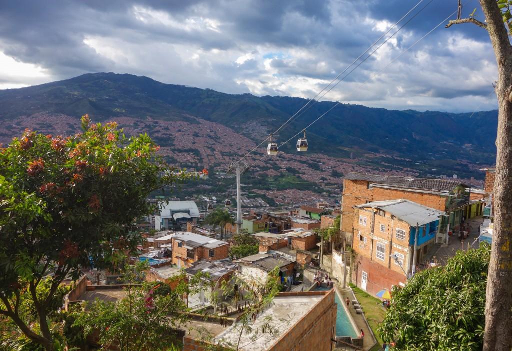 Santo Domingo à Medellin