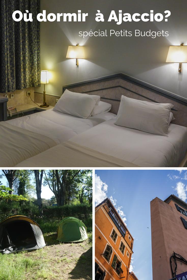 Bon plan pour dormir 1 nuit près d'Ajaccio ? : Forum Corse  Routard