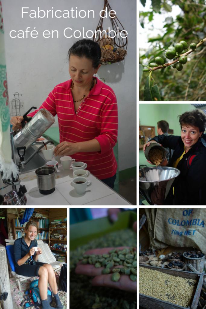 Fabrication de café organique en Colombie, par Voyages et Vagabondages