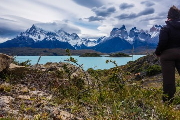 Voyager seule, Torres del Paine, Chili