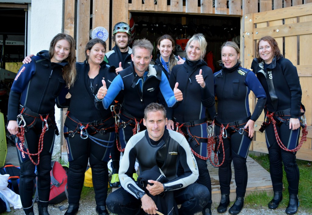 Canyoning au Tyrol autrichien