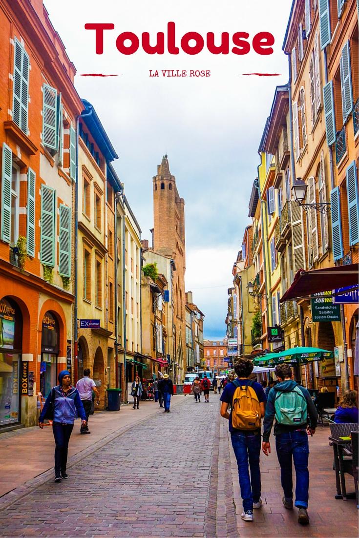Découvrir Toulouse, la ville rose