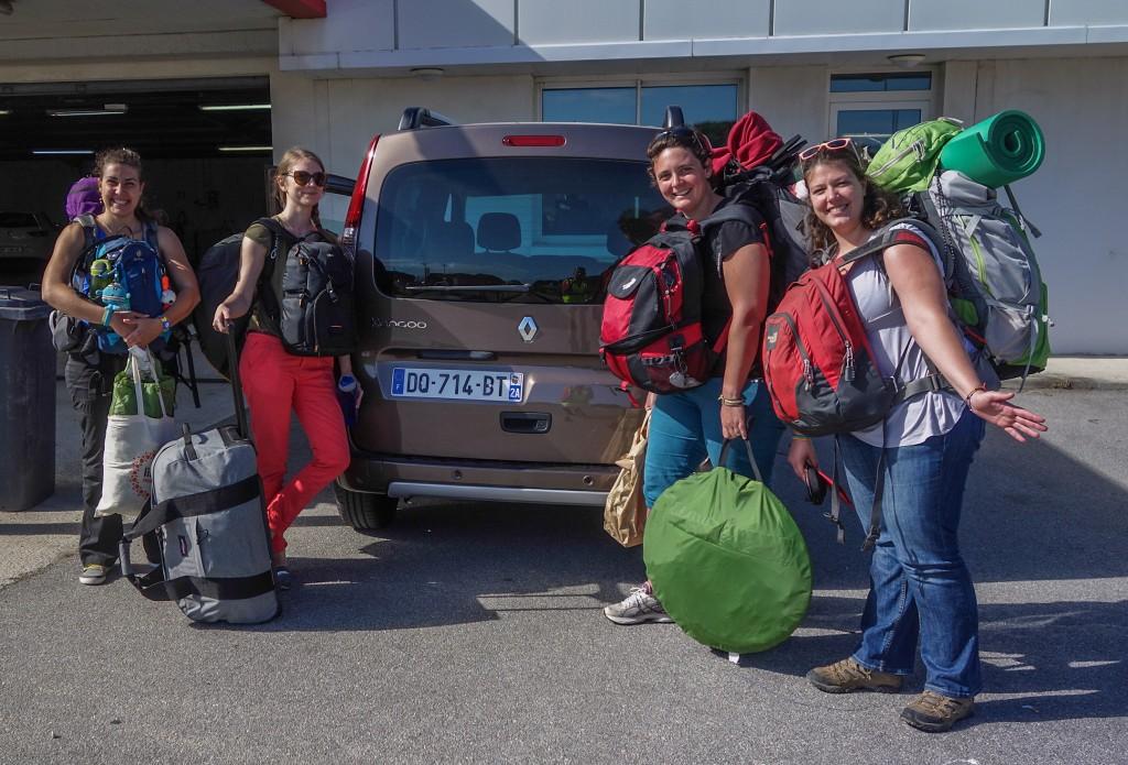 A Corsican road trip in Kangoo