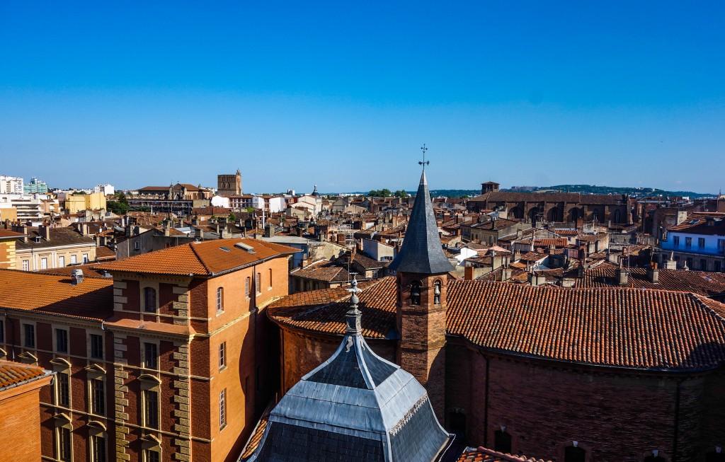 Visiter Toulouse, vu d'en haut