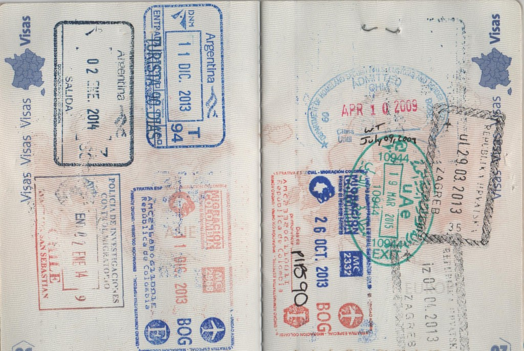 Passport of a nomad