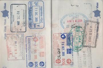 Passeport d'une nomade