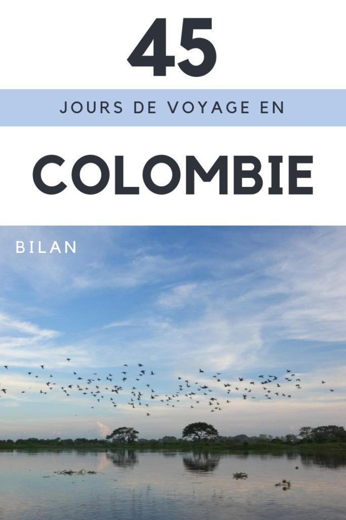 Voyager en Colombie: bilan d'un voyage en Colombie de 45 jours. Coups de coeur, déceptions, sécurité, voyager en solo en Colombie, langue, transports, hébergement etc