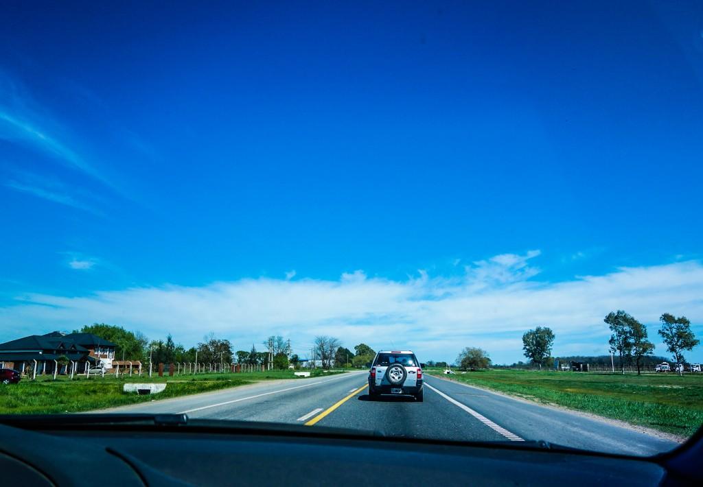 En route vers la Pampa argentine