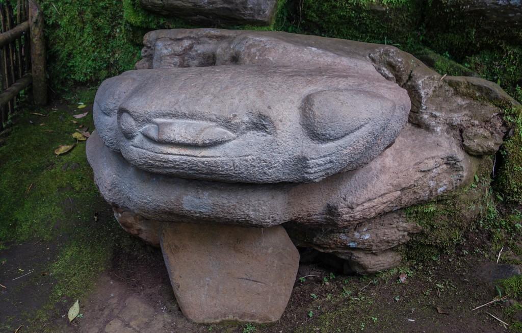 Statue précolombienne à San Agustin