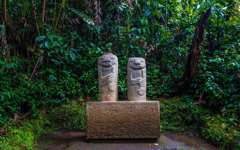 Le parc archéologique de San Agustin