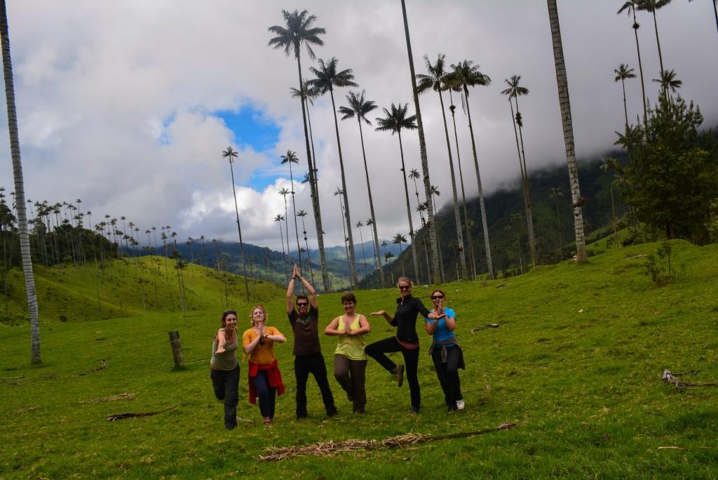 Amitié en voyage, entre amis à Salento en Colombie