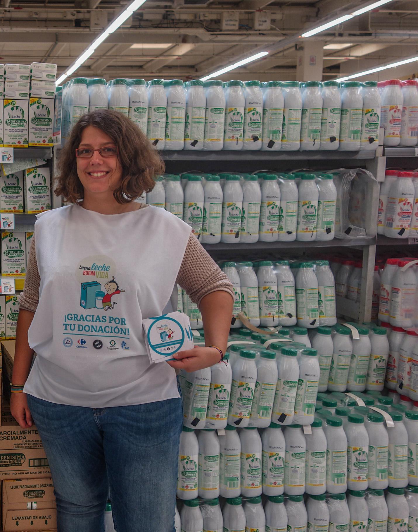 Volontariat - collecte de lait à Buenos Aires