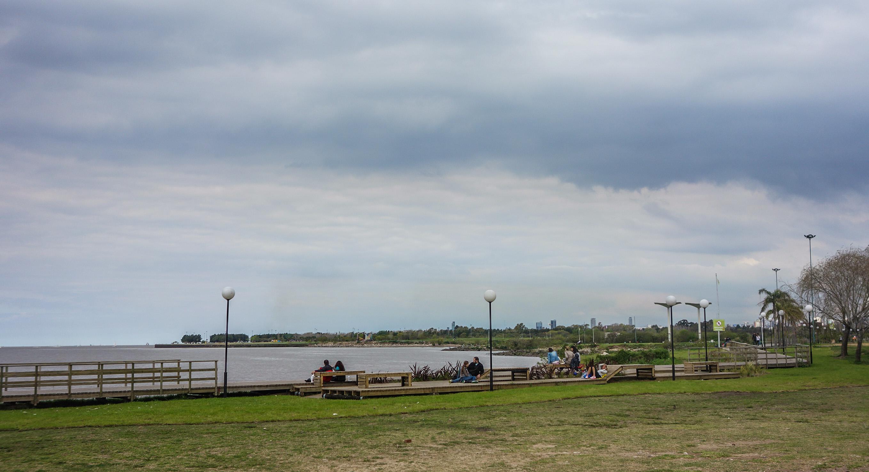 La rivière à Vincente Lopez