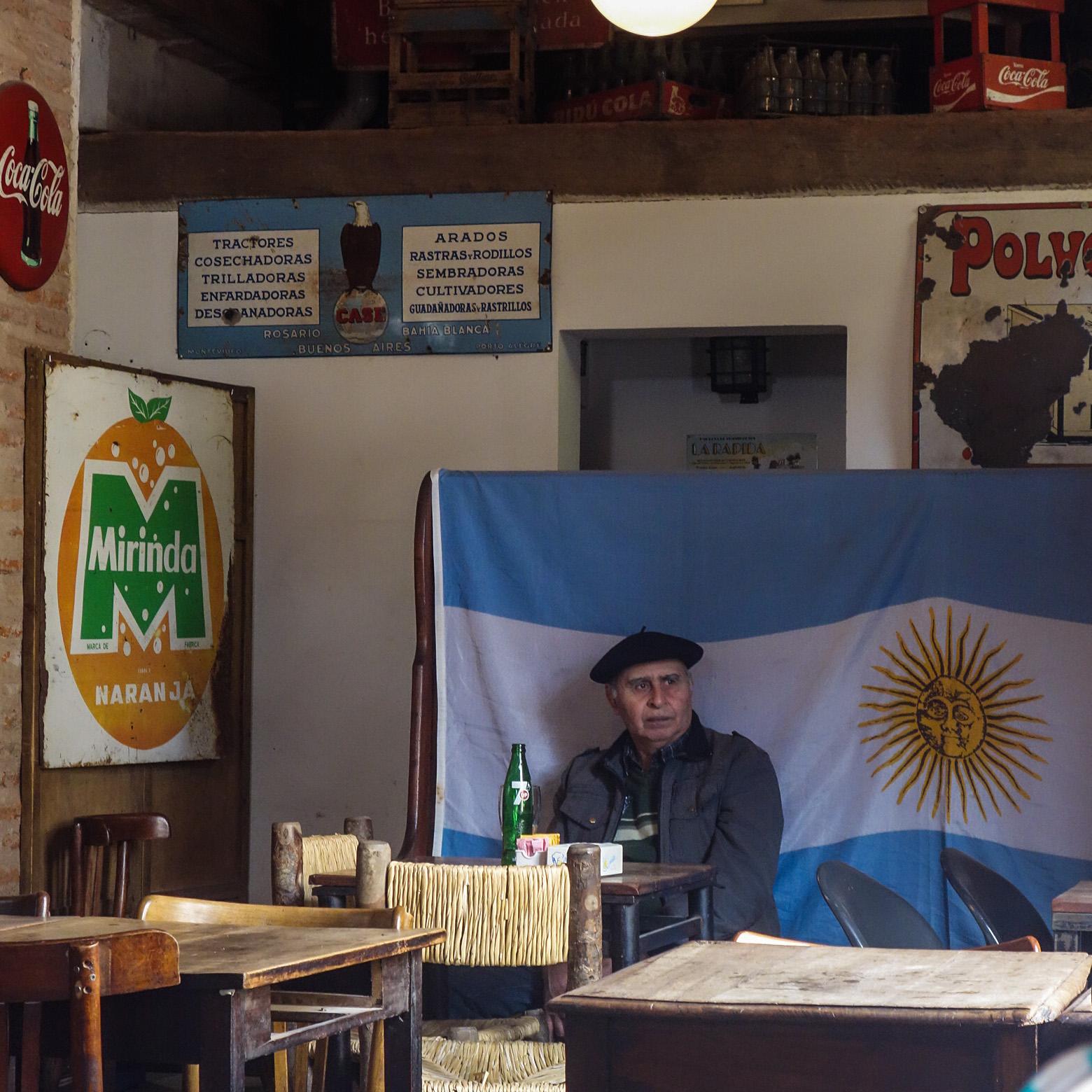 Cliché du gaucho argentin