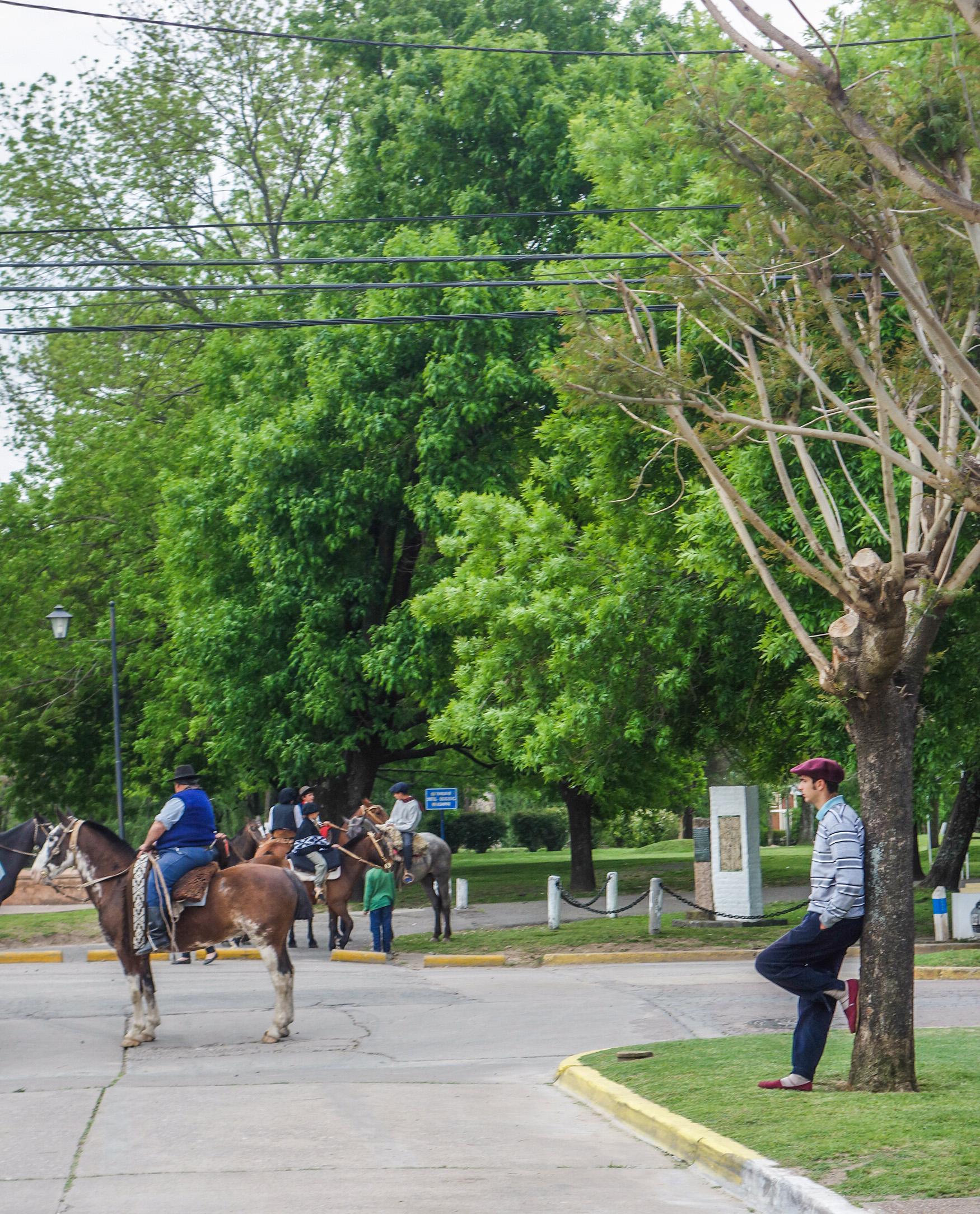 Fête du village à San Antonio de Areco