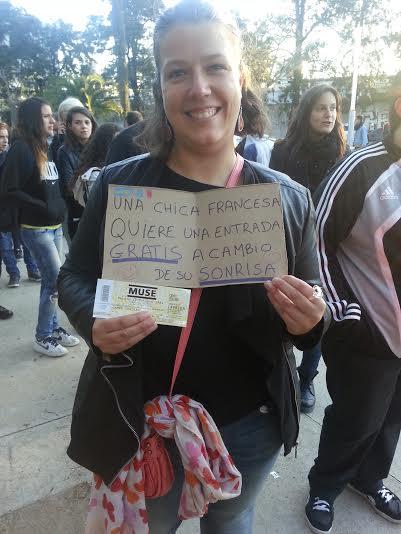 Un ticket gratuit pour un sourire à Buenos Aires