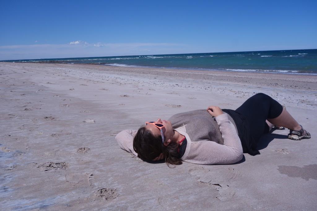 Une plage en Argentine, savoir se reposer en voyage