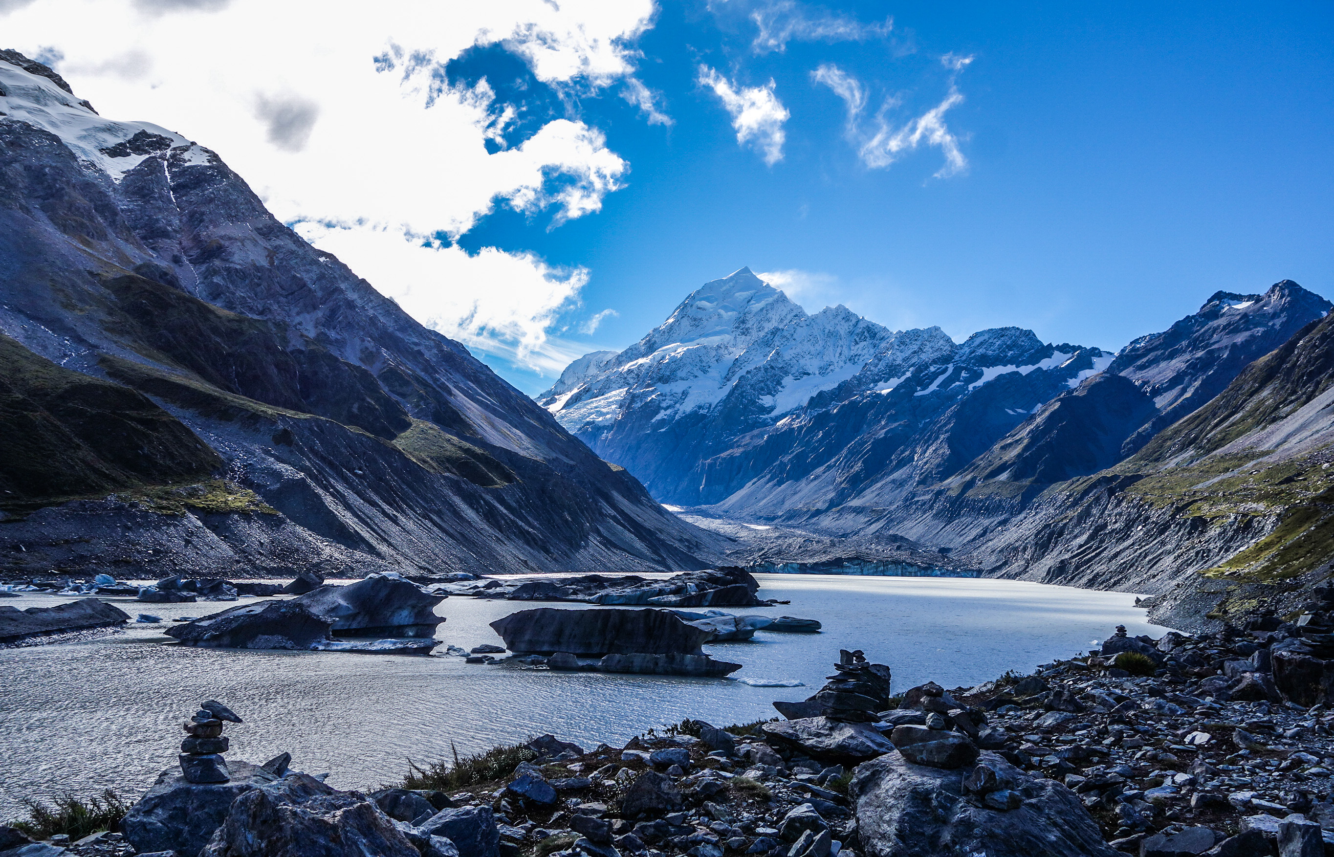 Mont Cook, Aoraki en Nouvelle-Zélande