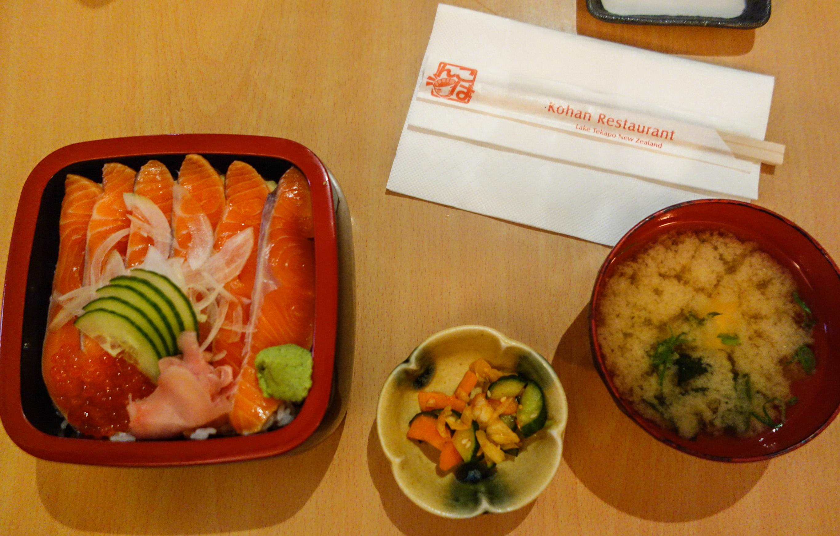 La meilleure nourriture japonaise de Nouvelle-Zélande