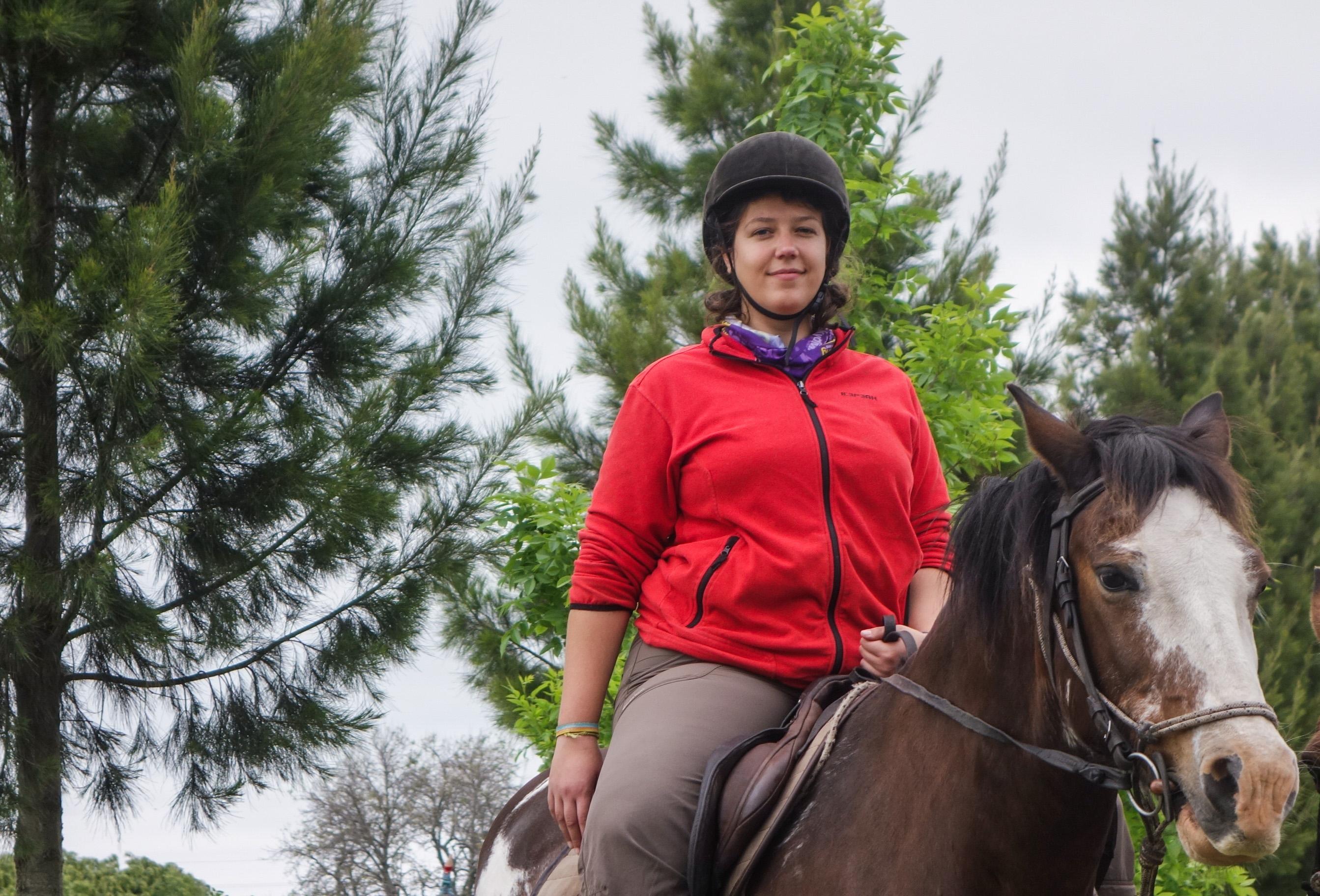 Leçon d'équitation en Uruguay