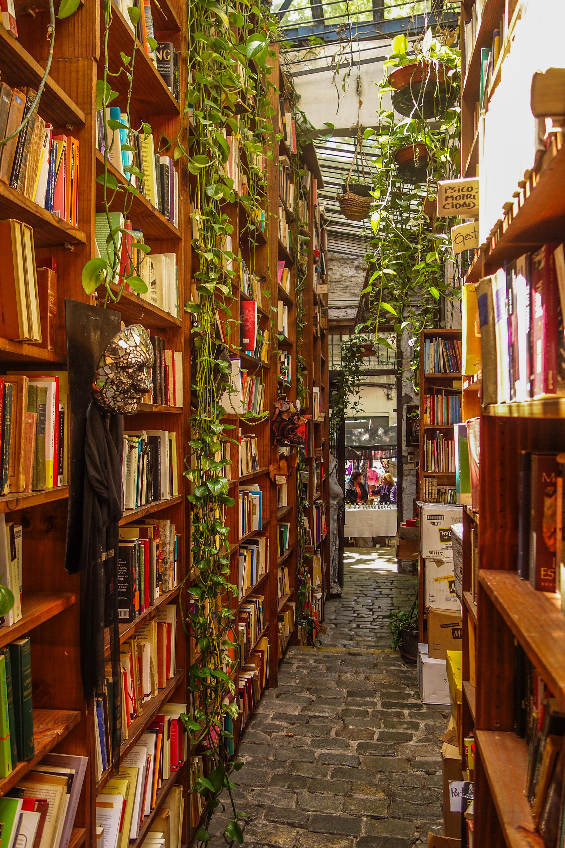 Librairie à Montevideo
