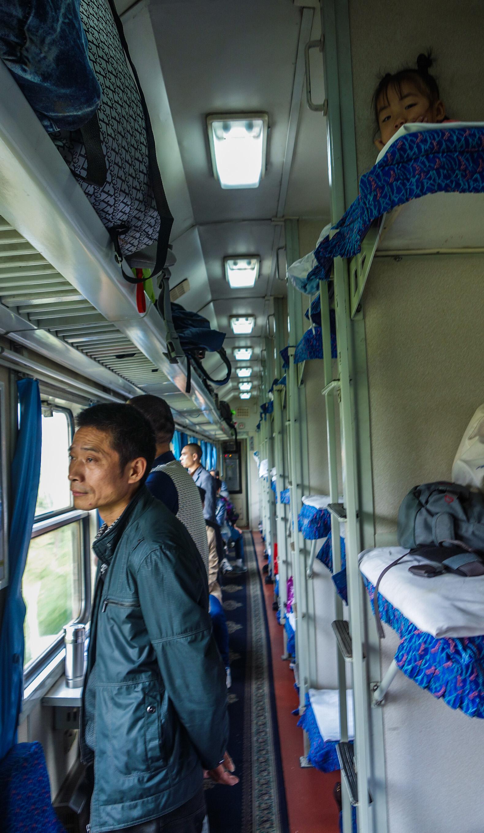 Voyage en train au cœur de la Chine