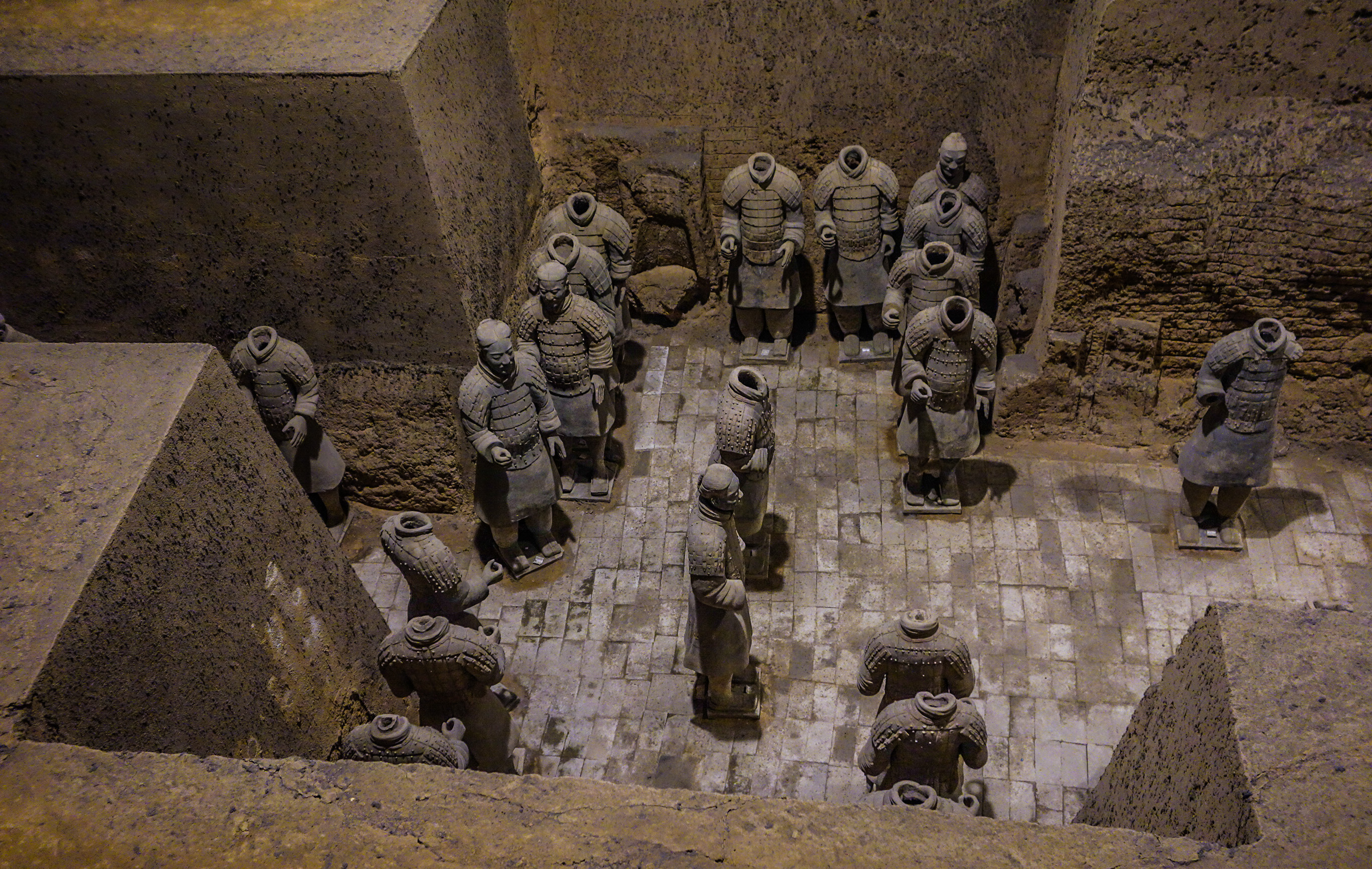 L'armée de soldats de terre cuite à Xian