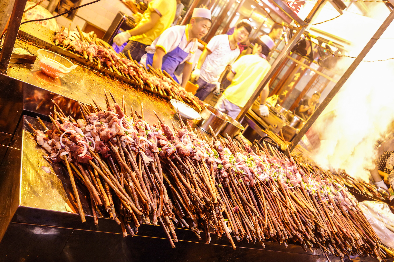 Marché de nuit à Xian