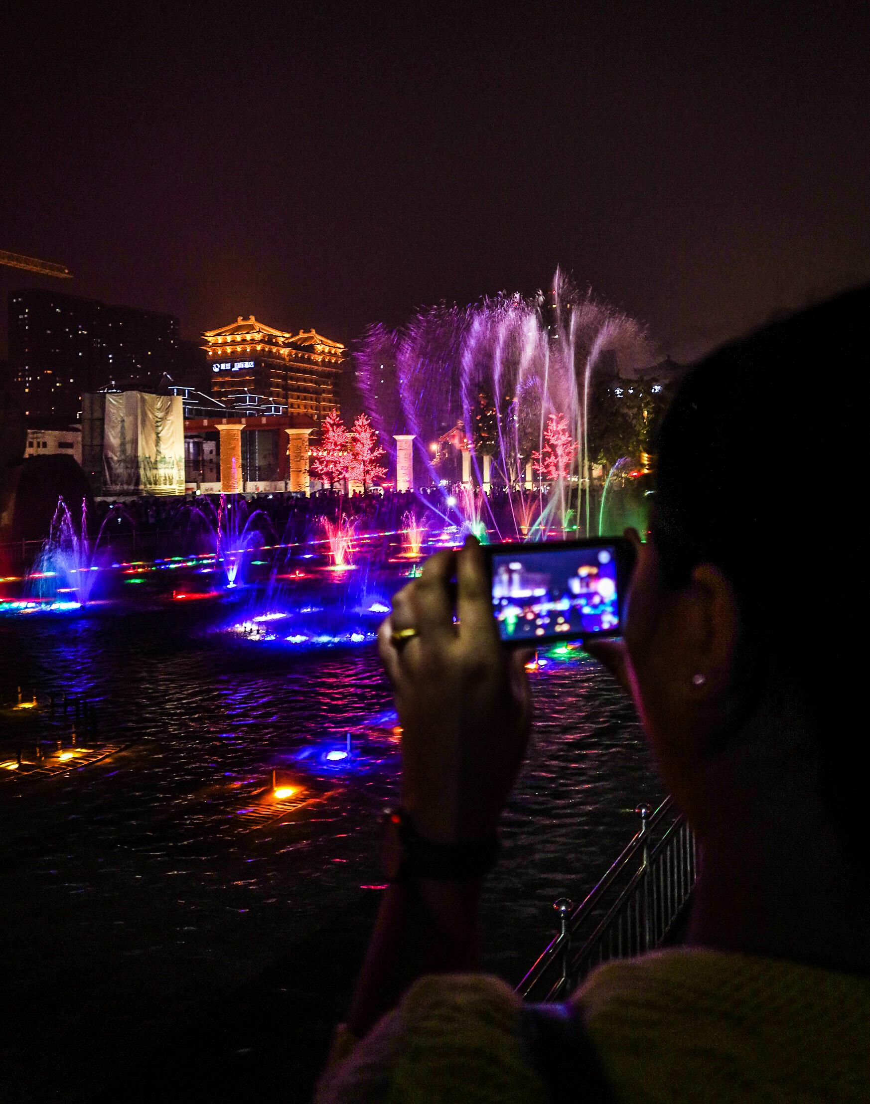 Son et lumière à Xian