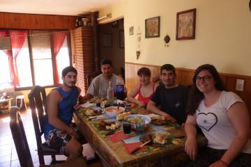Asado maison à Santa Clara del Mar