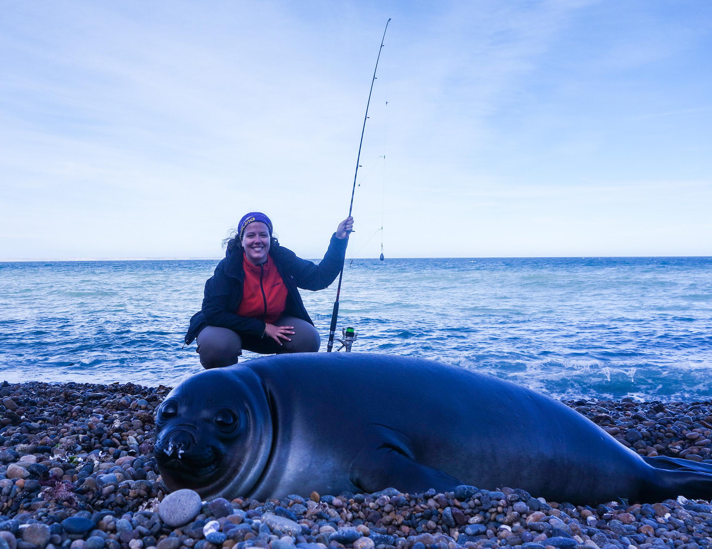 Séance de pêche à Puerto Madryn