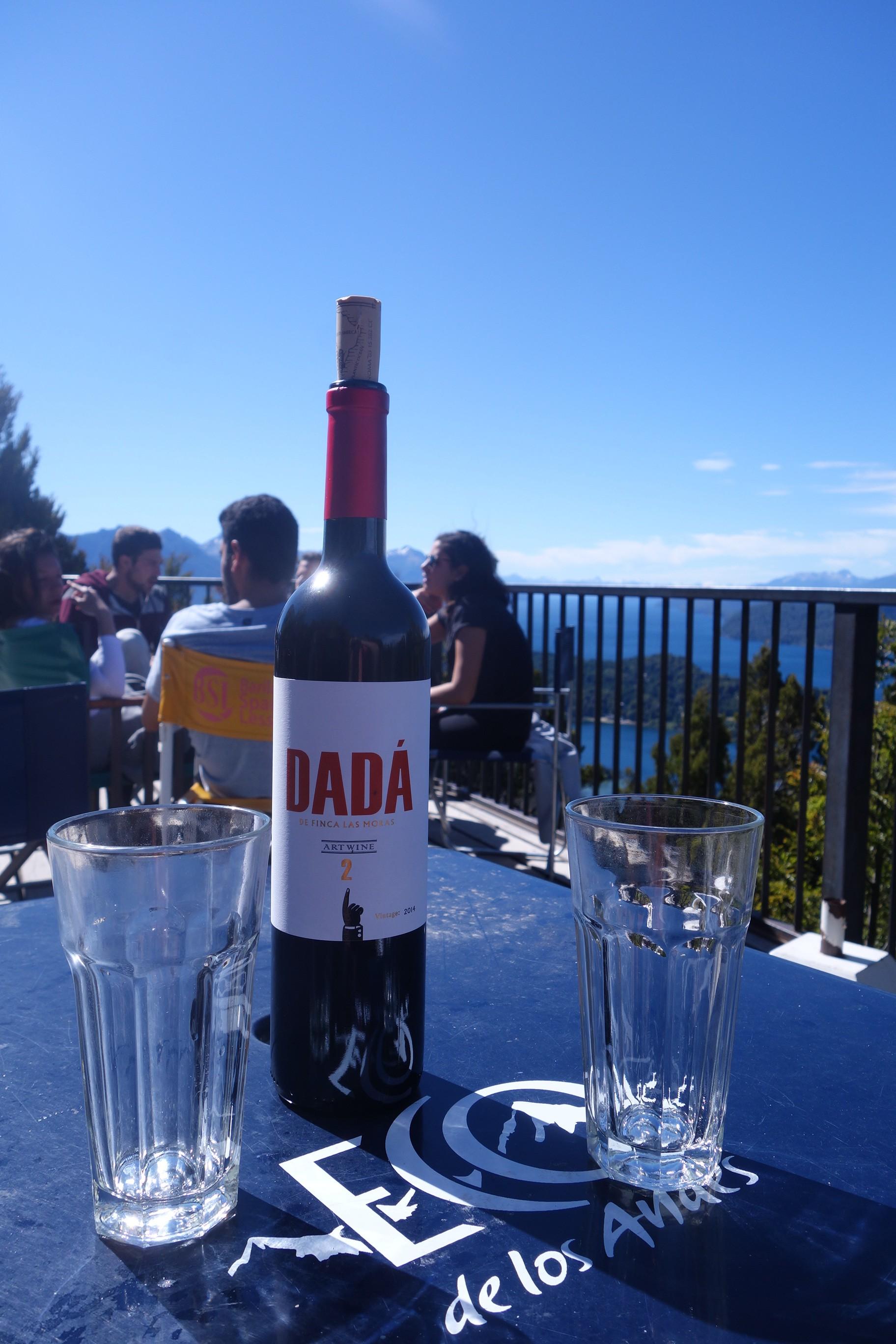 Vin au cerro campanario à Bariloche