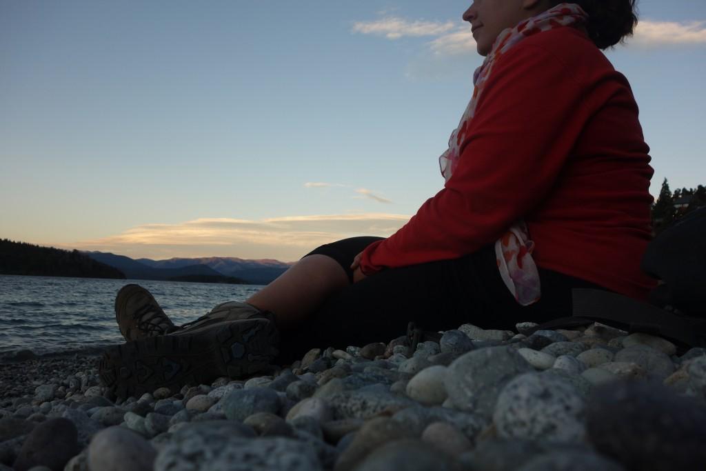 Coucher de soleil le 25 décembre à Bariloche