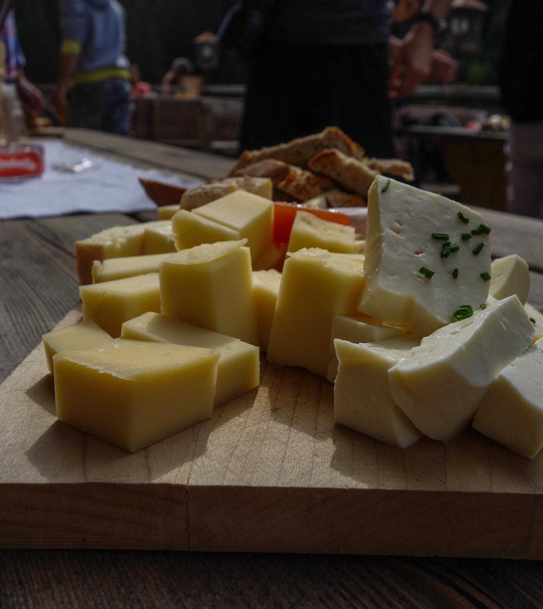 Fromage en Autriche