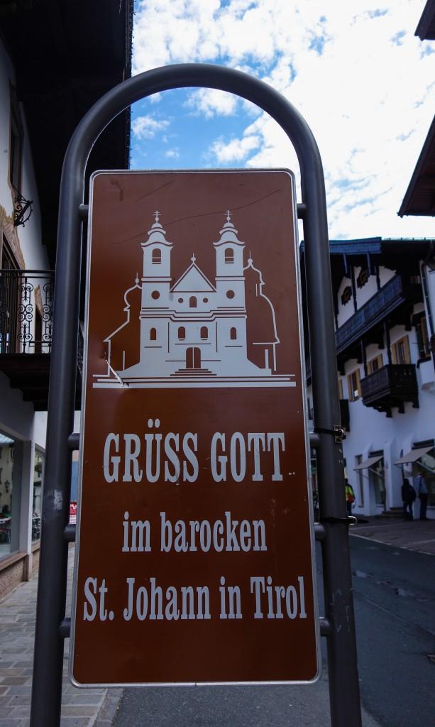 St Johann in Tirol - visite d'une ville tryolienne traditionnelle et pittoresque lors d'un voyage en Autriche