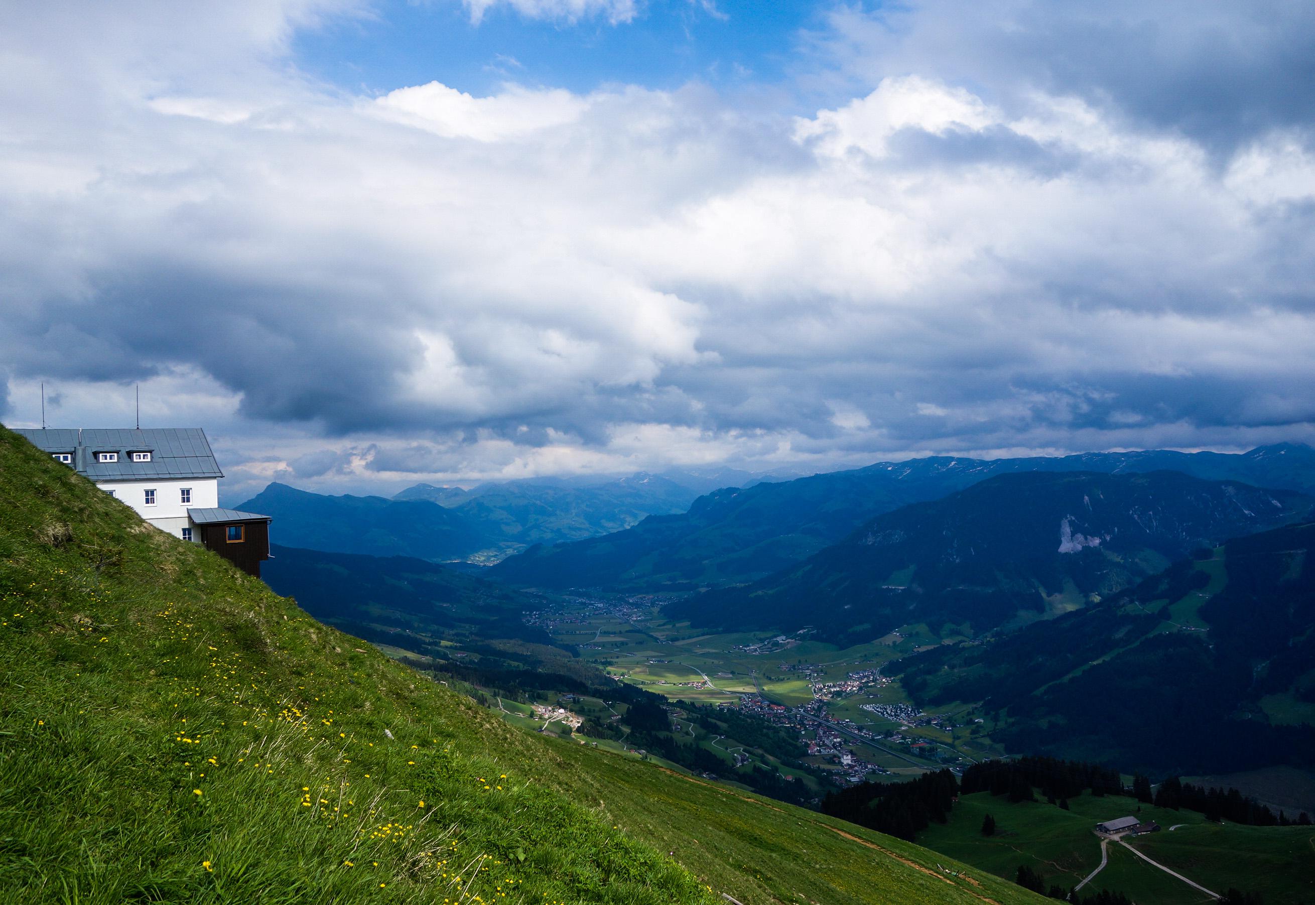 Hohe Salve en Autriche