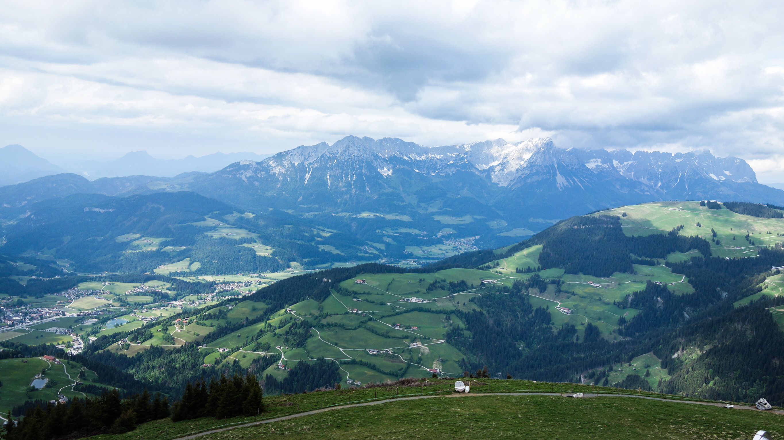 Jolies vue en Autriche
