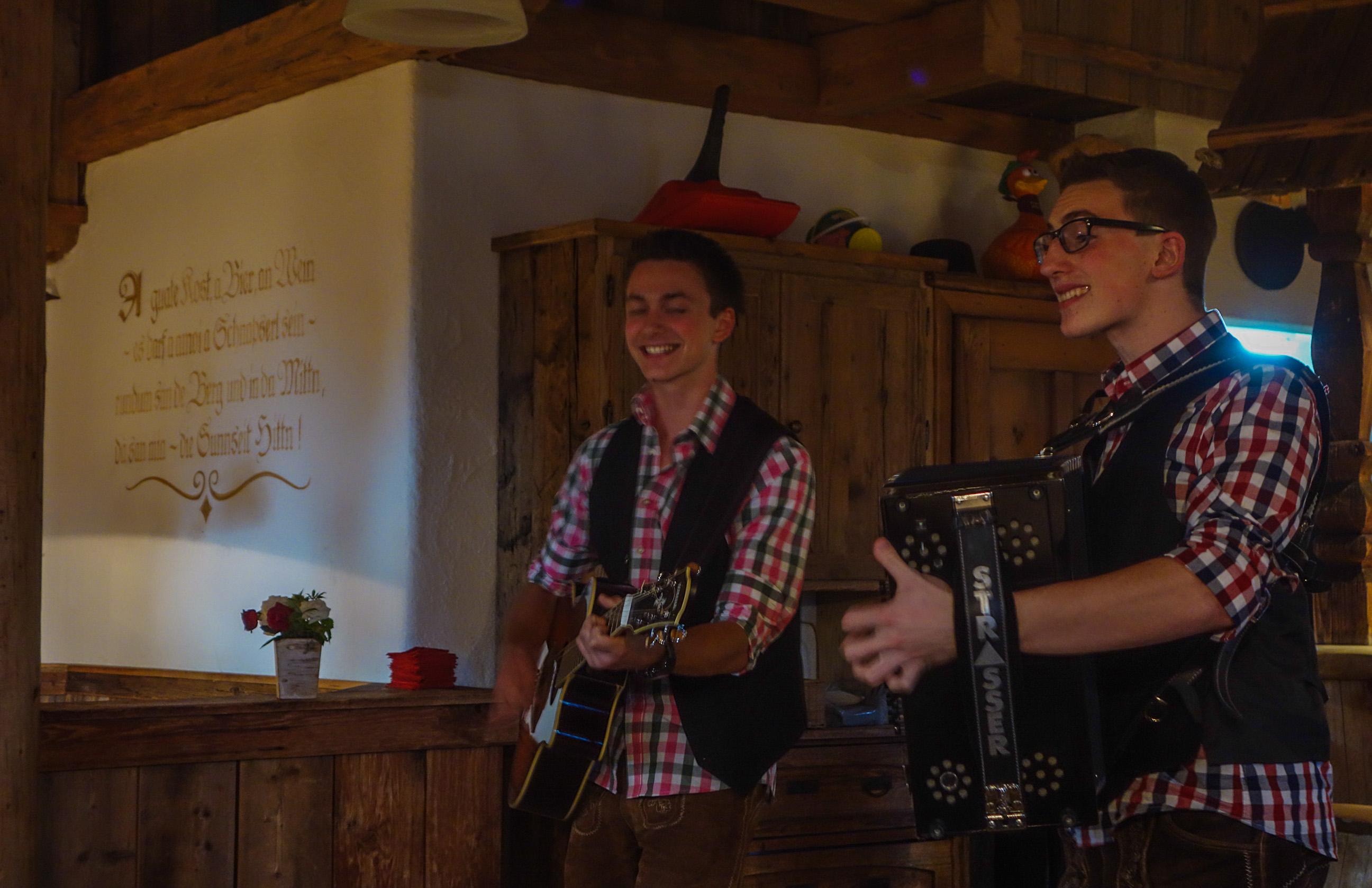 Danse et chant au Tyrol