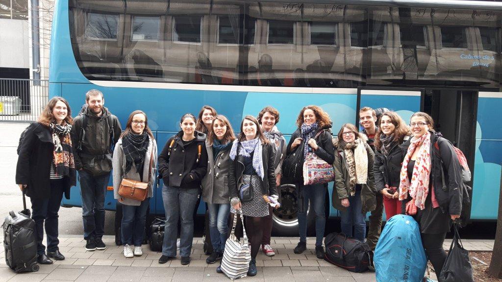 Voyage en bus à Bruxelles