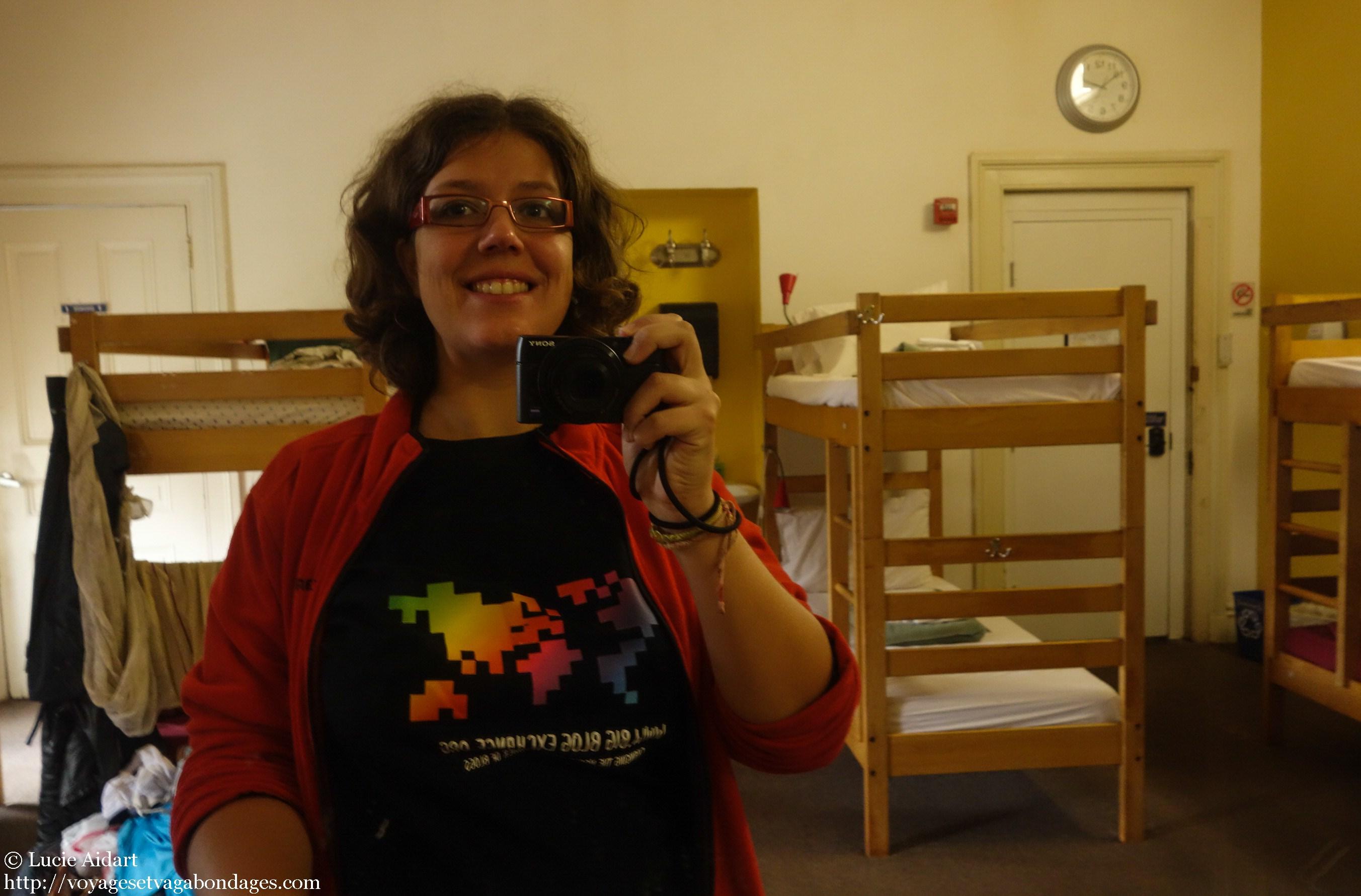 Dans une auberge Hostelling International à Baltimore, Etats-Unis