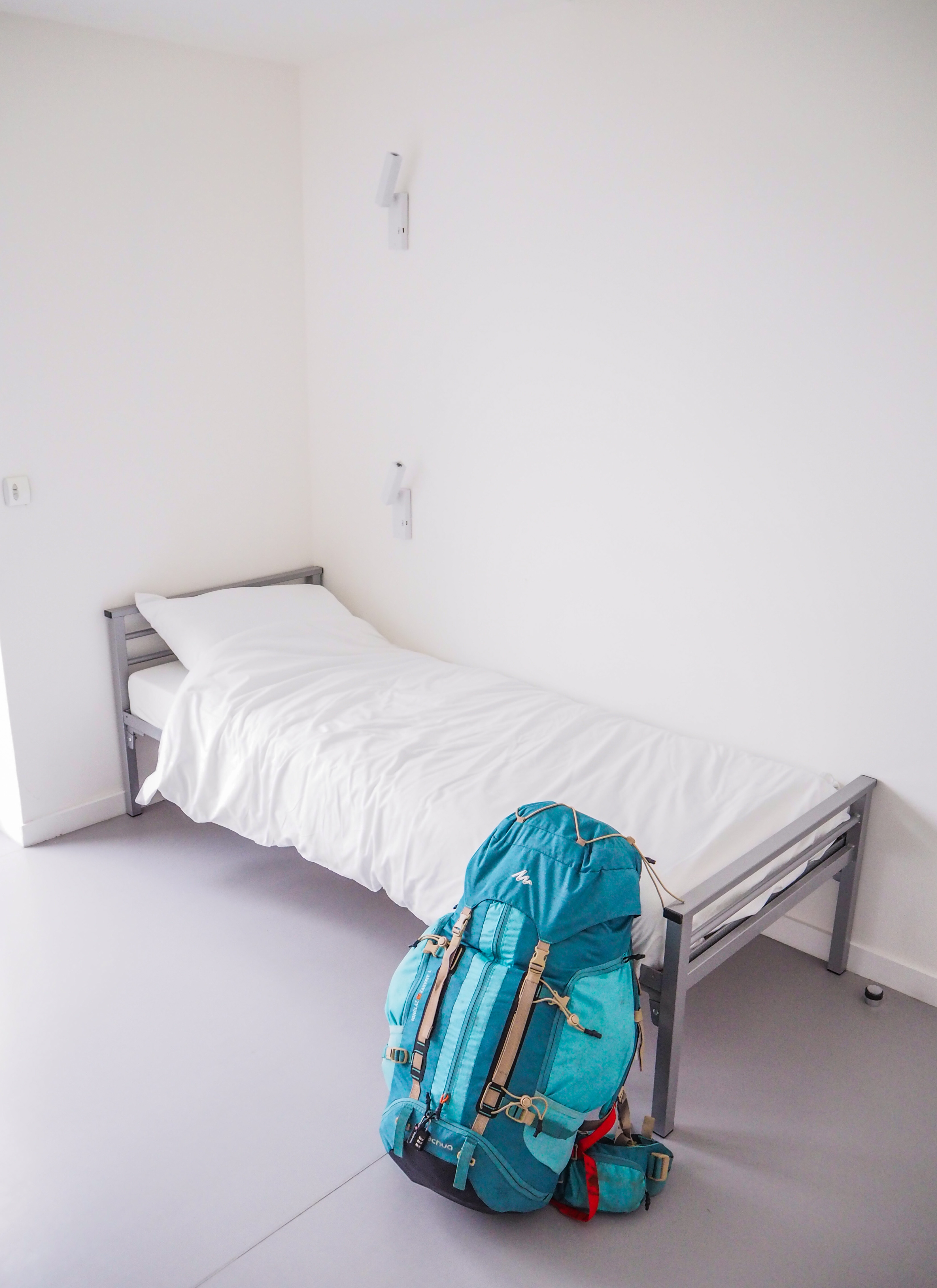 Chambre simple à l'auberge de jeunesse HI Lille