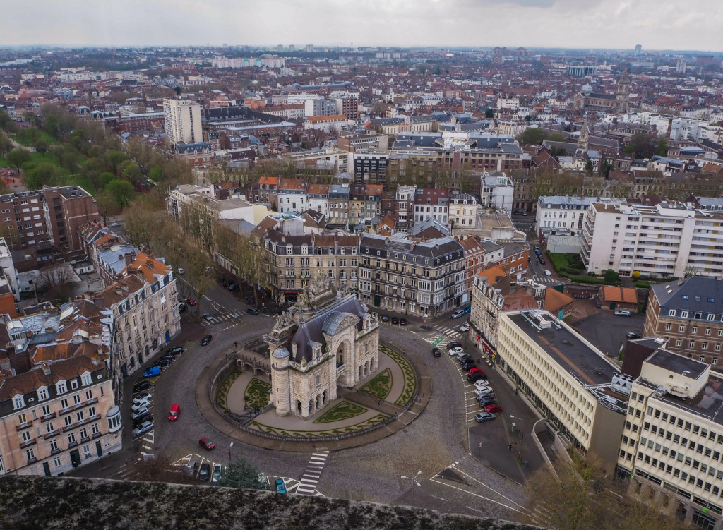 Vue depuis le Beffroi de Lille
