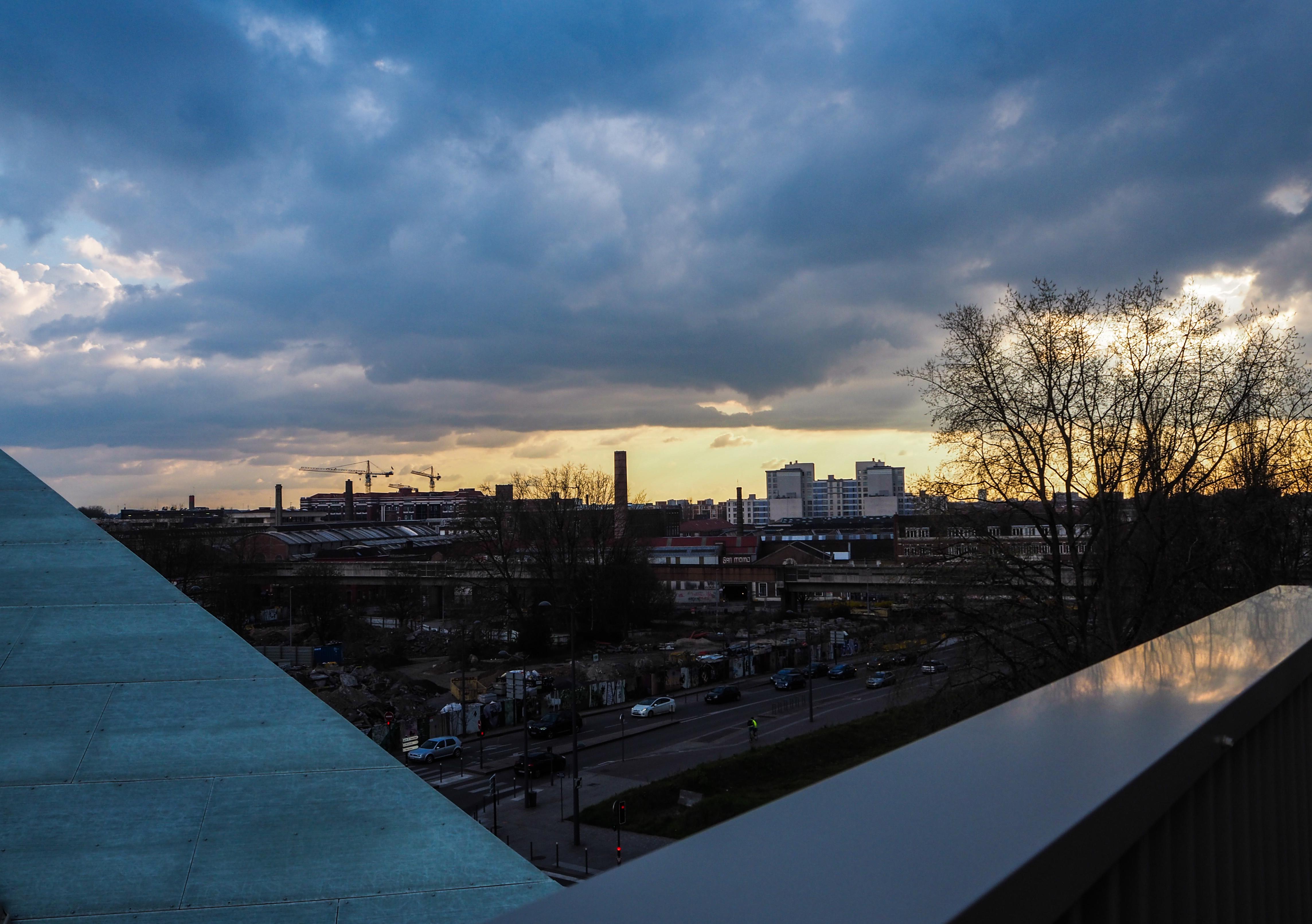 Depuis mon balcon à l'auberge de jeunesse HI Lille