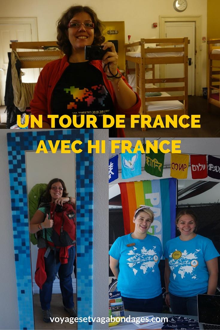 Un tour de France avec les auberges de jeunesse HI FRANCE