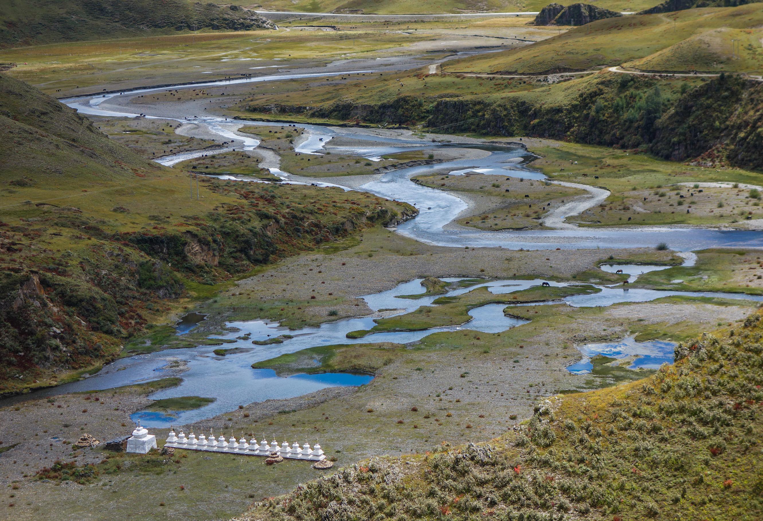 Les plateaux tibétains