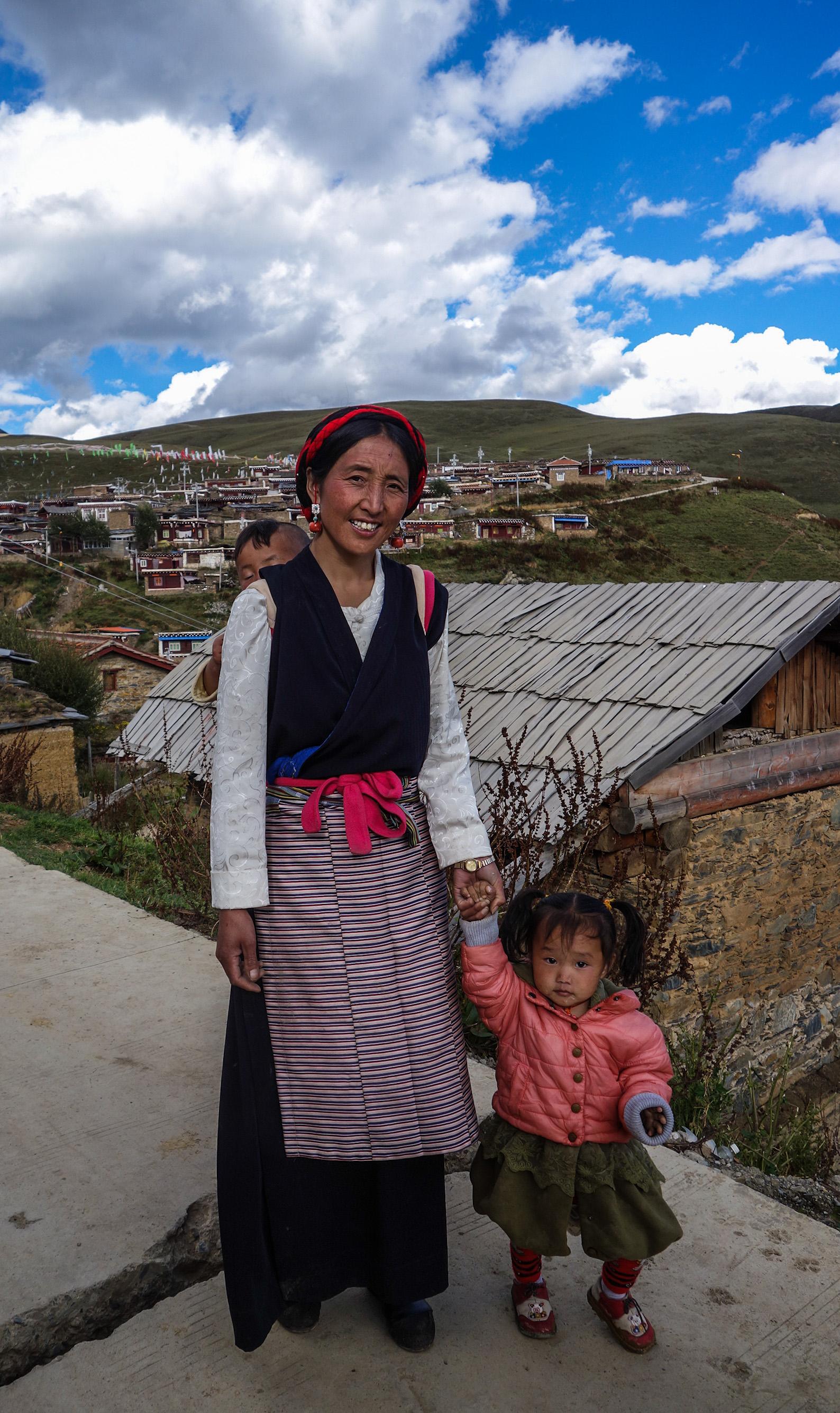Nomade au Tibet
