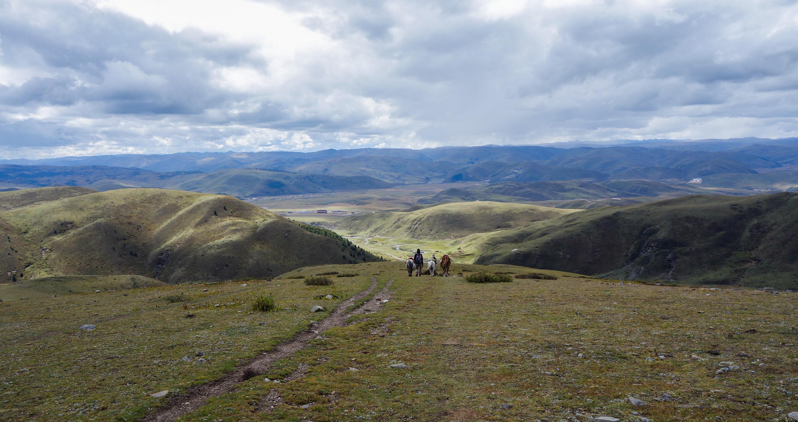 Trekk à cheval sur les hauts plateaux tibétains