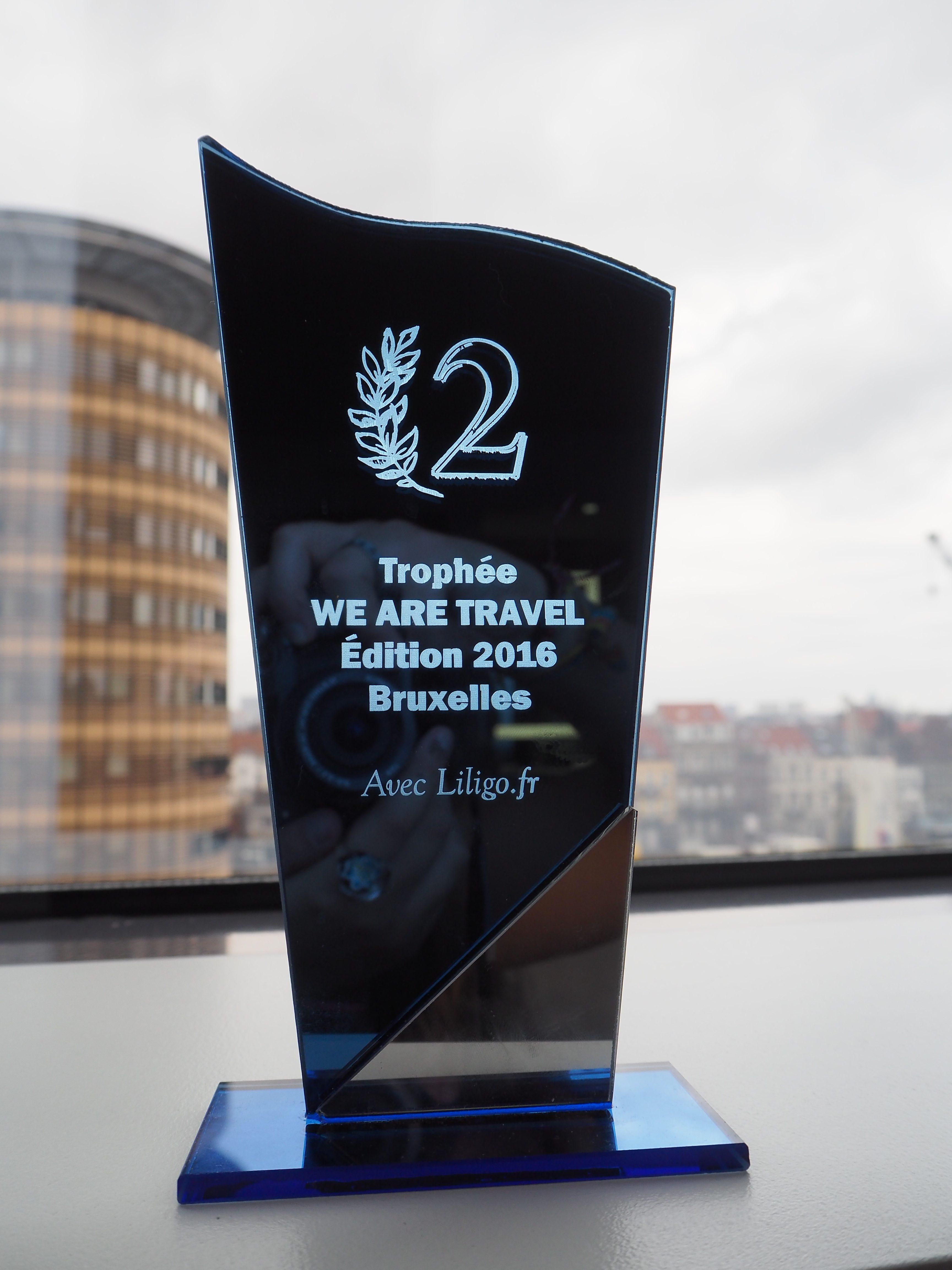 Trophée We Are Travel, meilleur blog de voyage francophone, Voyages et Vagabondages