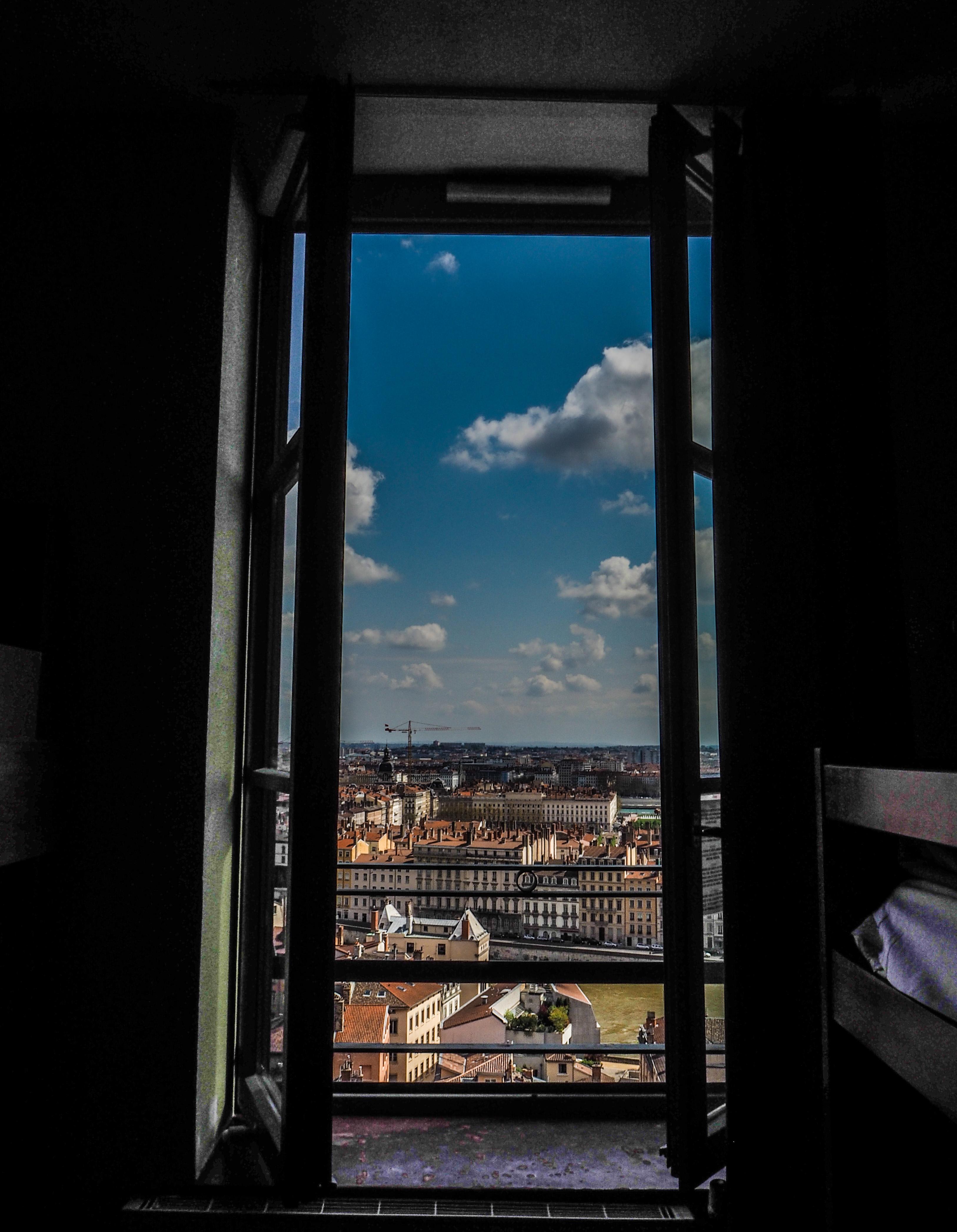 Vue depuis ma chambre à l'Auberge de Jeunesse HI Vieux Lyon